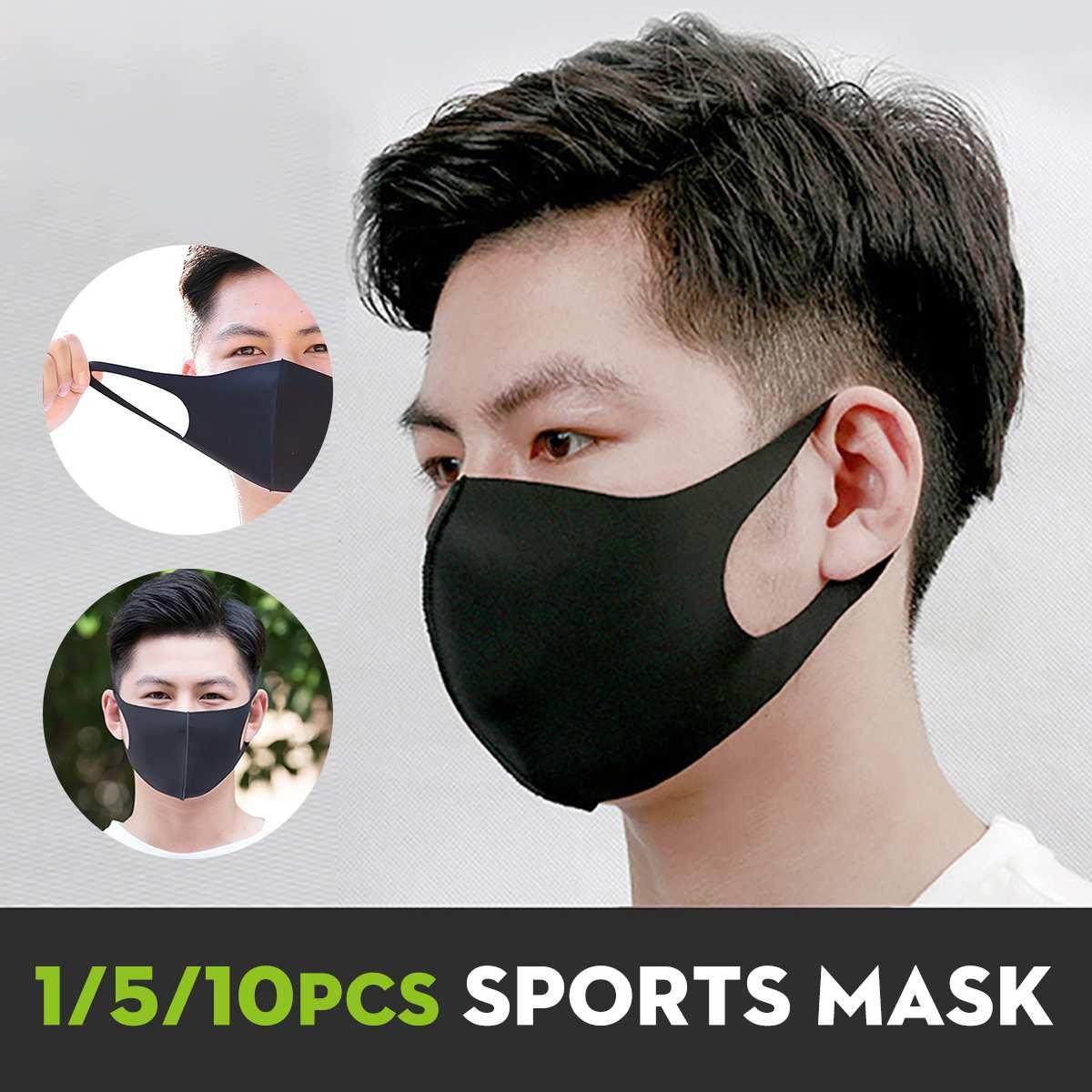 1/5/10Pcs Cotton Face Mask Mouth Mask Reusable Washable Earloop Mask Isolation Protection Anti Dust Haze Outdoor Dustproof Masks