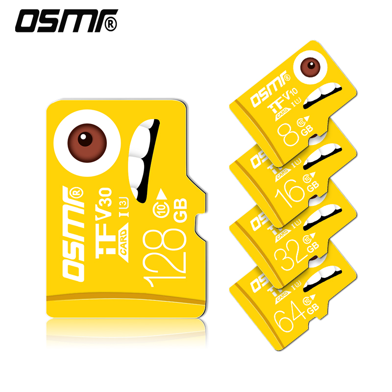 TF (MicroSD) Memory Card C10 High Speed Enhanced Edition Driving Recorder Monitors Mobile Phone Memory Card