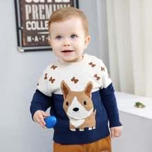 Хлопковый вязаный Детский кардиган ciciibear свитер детская