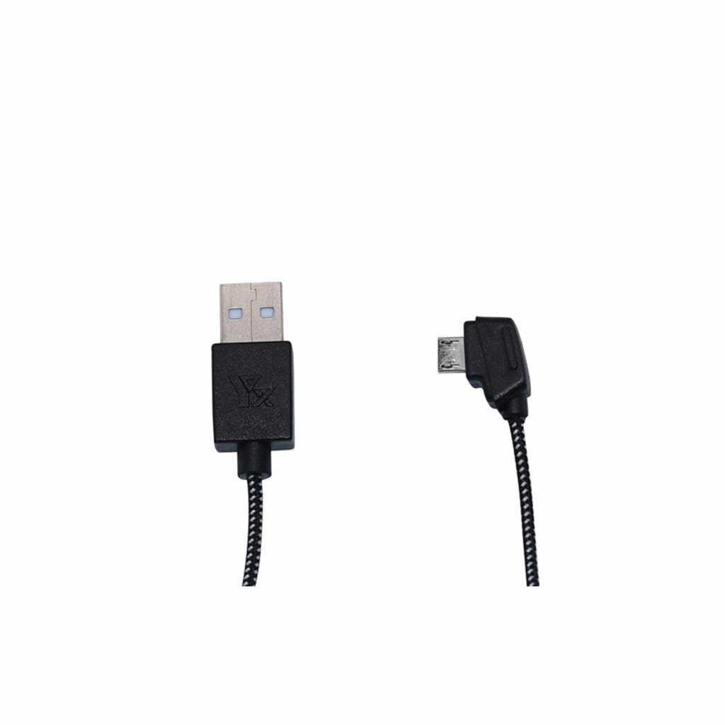 Cable USB de carga rápida, Cable de nailon para Puerto de conexión 80cm, Cable adaptador de plomo para DJI Mavic Mini/Pro/Air 2, Control remoto con chispas