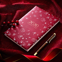 Agenda 2020 Diary Planner Organizer Notebook and Journals Kawaii A5 Fichario Note Book Weekly Monthly Personal Travel Notepad недорого