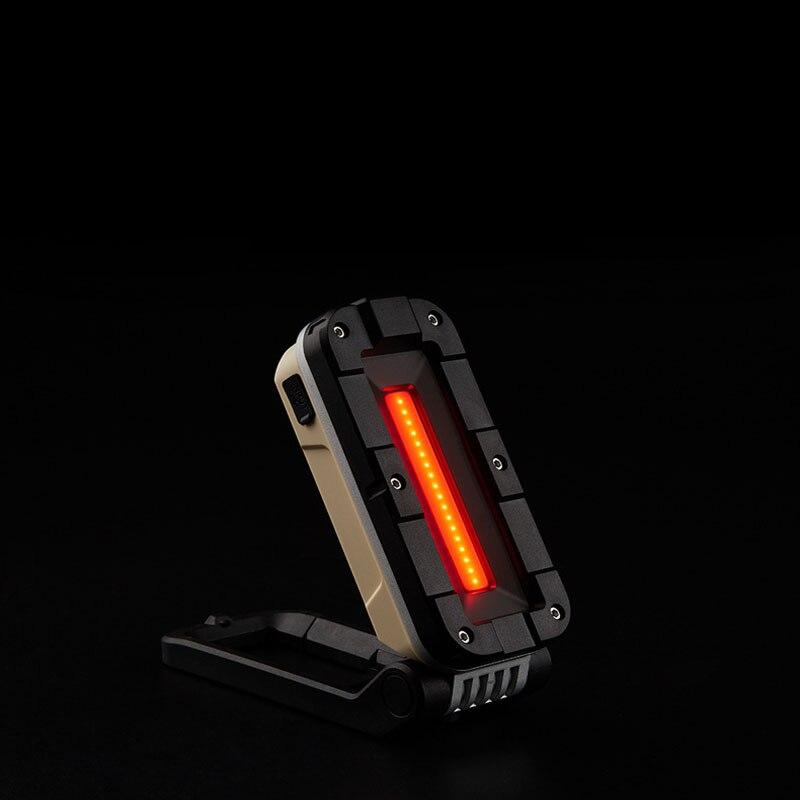 SUNREI V1000 COB + светодиодный 180 ° Регулируемый магнитный хвост светодиодный рабочий светильник USB Перезаряжаемые вспышка светильник многофункц...