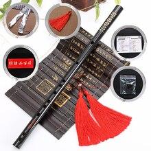 Высокое качество китайские традиционные музыкальные инструменты бамбуковая dizi флейта для начинающих C D E F G ключ поперечная флейта