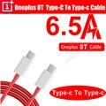 Original Für Oneplus 8 T 8 T Warp Ladung Typ C Zu Typ C Kabel 6,5 EINE Schnelle Ladung Einer plus 8 7 Pro 7t 6t 6 5t 5 3t 3 Dash Lade