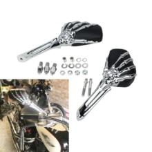 Side-Mirrors Softail Honda Boulevard Shadow V-Star Universal Motorcycle Harley Suzuki