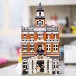 15003 15002 15008 15010 15011 15009 2082pcs Pet Shop Supermarket Model City Street Building Blocks Compatible 10218 Toys