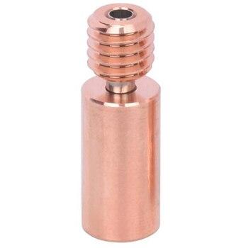 Bi-metal Heatbreak dla V6 Hotend Bimetal przerwa ciepła gardła dla Prusa I3 MK3 1.75MM gładkie części drukarki 3D