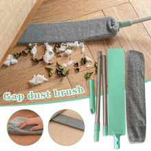 Bedside Dust Brush Long Handle Mop Reusable Microfibre Duster Sweeping Brush KSI999