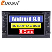Eunavi 2 DIN Android 9.0 DVD Ô Tô Cho Xe Kia Sorento Magentis Sportage Sáng Ceed Rio Cerato 2005 2010 Xe KIA đa Năng
