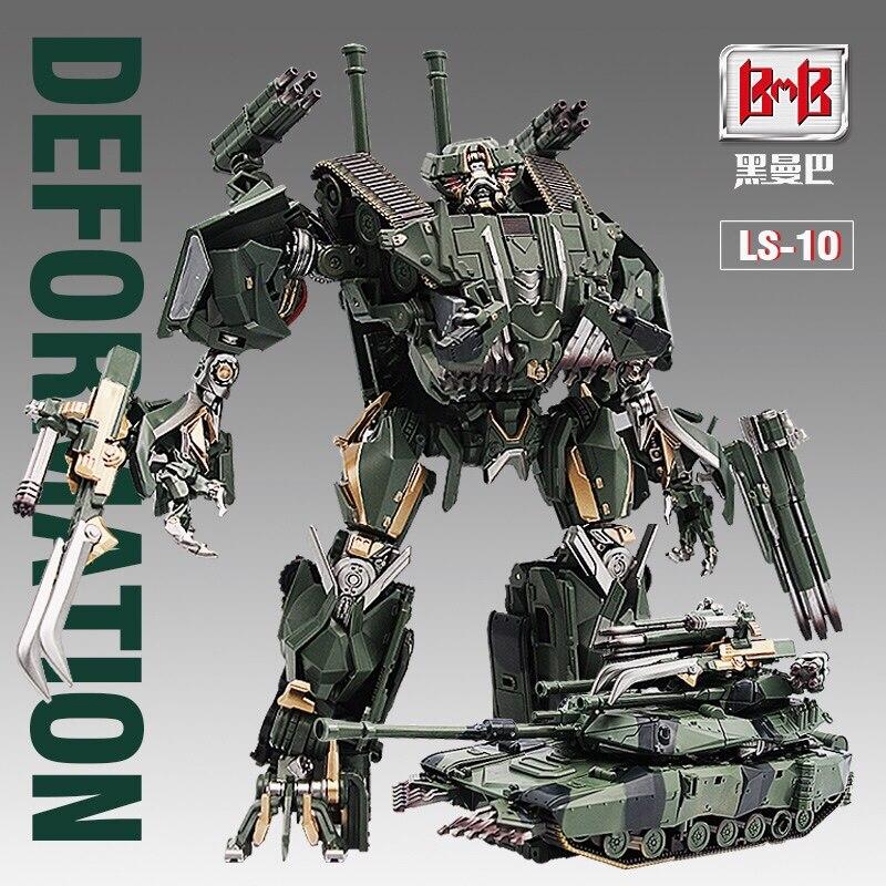 Bmb 변환 ls10 ls 10 brawl ss 합금 영화 m1a2 탱크 모드 액션 피규어 ko 로봇 완구-에서액션 & 장난감 숫자부터 완구 & 취미 의  그룹 1
