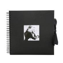 31x31cm Album fotograficzny kreatywny 30 czarnych stron Album DIY Scrapbooking, rzemiosło Album fotograficzny na prezenty na rocznicę ślubu
