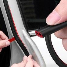 Автомобильный-Стайлинг 4 метра B Тип автомобильные дверные уплотняющие полоски шумоизоляция ветрозащитный для Mazda SEAT Subaru Chevrolet Opel hyundai и т. Д