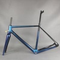 Seraph chameleon paint flat mount Disc gravel frame GR029 full carbon fiber T700 Customized paint|Bicycle Frame|Sports & Entertainment -