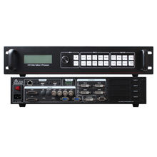 Ultra hd led vídeo tela splicer instalar 4 pcs novastar msd300 linsn ts802d huidu t901 colorlight s2 led controlador AMS-sc358