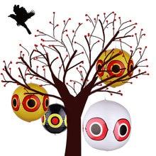 Птица репеллент отпугивает глаз Шары Сад Лазерный Светоотражающие