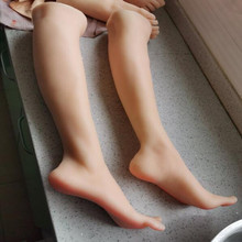 74CM Real female foot mannequin Blood vesse Silicone Photography Silk Stockings Jewelry soft Silica gel doll one piece D199 one piece burning blood gold edition цифровая версия