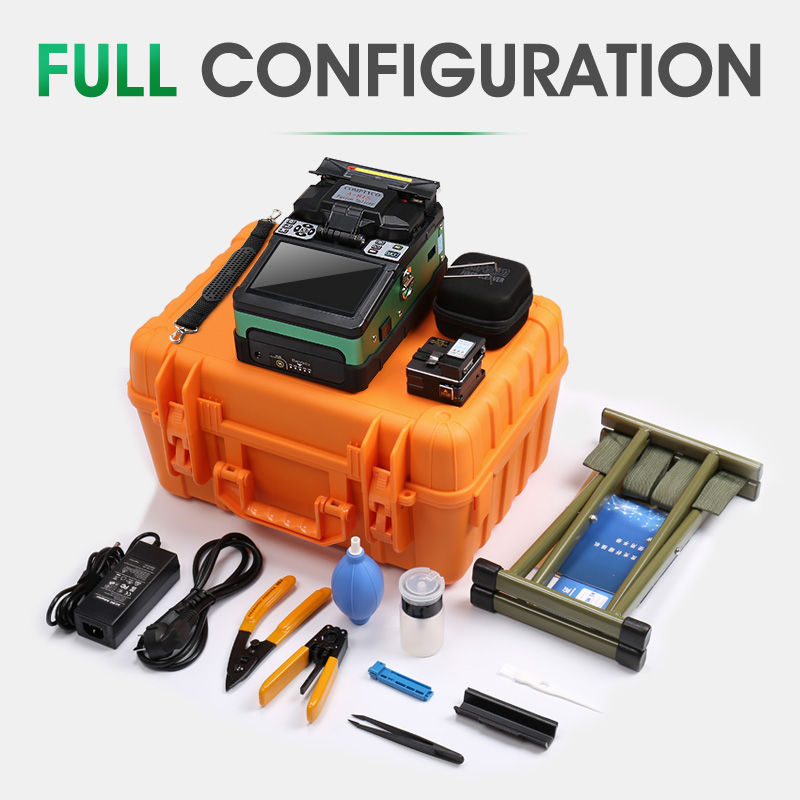 A-81S Green Automatic Fusion Splicer Machine Fiber Optic Fusion Splicer Fiber Optic Splicing Machine