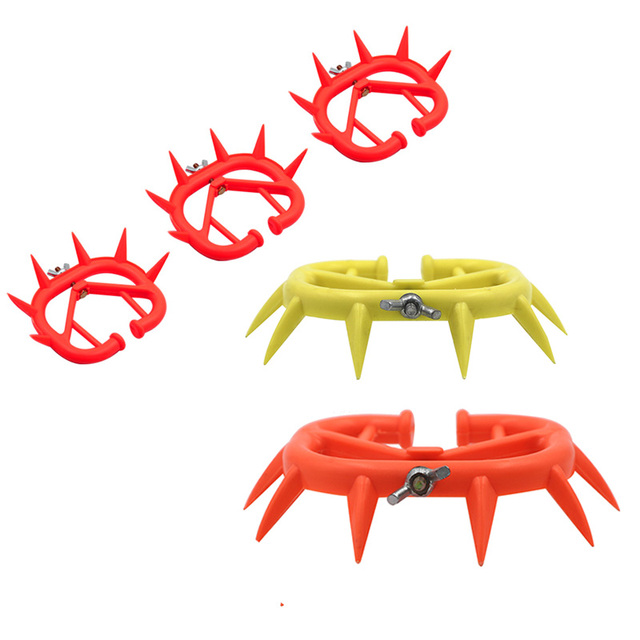 20 pcs Plastic Durable Cattle rings Cow Weaner Anti Sucking Milking Stop Kit Calf Weaner Calf Nose Ring Farm products