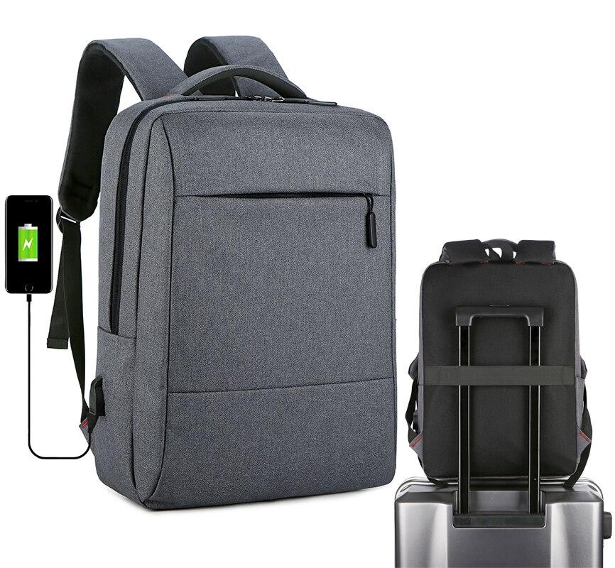 sacos do computador estudantes universitários backbag notebook saco masculino menino