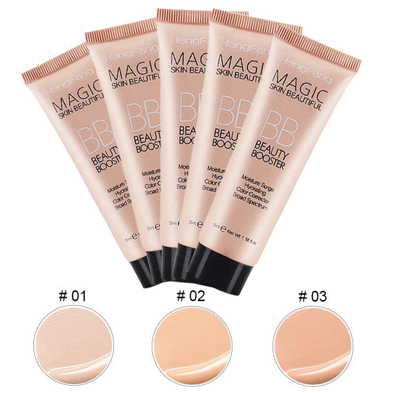 Tahan Lama Foundation Basis BB Krim Wajah Tahan Lama Whitening Makeup Primer Make Up Foundation Concealer Kosmetik Korea