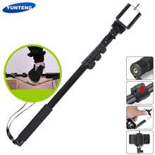 Yunteng 188 Handheld Portable Extendable Pole Telescopic Selfies Stick Camera Monopod Tripod for iPhone 12 XS Max XR X HUAWEI MI