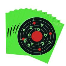 Paper Shooting Target - Reactive Silhouette Bullseye Splatter Targets See Your Hits Instantly Hunting  Splash