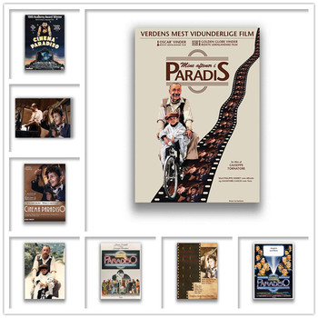 Nuovo cinema Paradiso Poster Clear Image Wall Stickers Home Decoration Good Quality Prints White Coated Paper image