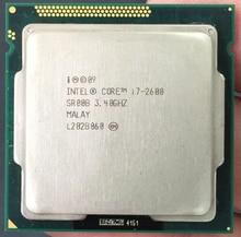 Intel Core i7-2600 i7 2600 Processor (8M Cache, 3.40 GHz) CPU LGA 1155 100% working properly PC Computer Desktop