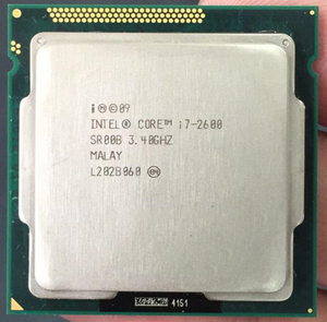 Intel Core i7-2600 i7 2600 Processor (8M Cache, 3.40 GHz) CPU LGA 1155 100% working properly PC Computer Desktop