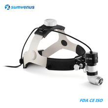 LED 5W High Brightness Dental Surgical Medical Headlight Headlamp Head Light Lamp ENT Oral Cosmetic Surgery Pet Medical KD-202A dental wall anging medical surgical oral lamp shadowless cold light with arm