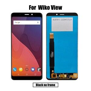 Image 2 - חדש מקורי עבור Wiko תצוגת LCD & מסך מגע Digitizer תצוגת מסך מודול אביזרי הרכבה החלפת כלים