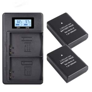 Charger-Set En-El14-Battery Camera Nikon D3200 D5100 Digital for D5100/Non-original/Slr