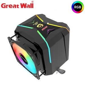 CPU Cooler Radiator Dual-Fan 1155 Great-Wall 1151 AM3 2066 90mm Lga 1150 Intel 1156 FM2