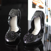 Genuine Leather Woman Flats Shoes Casual Soft Ladies