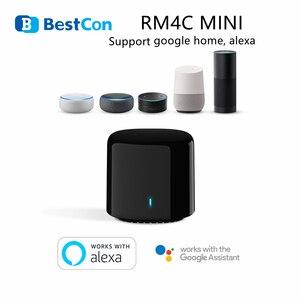 Image 1 - BroadLink BestCon RM4C mini WiFi Smart Universal IR Fernbedienung Arbeitet mit Google Hause Wi Fi 3G 4G, alexa Smart Home