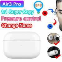 Air3 Pro Tws Wireless Earphone With Text Air 3 Pressure Sensor Bluetooth Headset Earbuds PK i9000 i90000 i300000 i200000 PRO tws