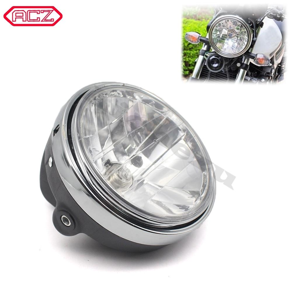 Motorcycle Parts Crystal Headlight Front Lamp Head Light for Honda CB400 VTEC I II III IV CB750 VTR250 CB Hornet 250/600