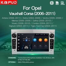 Kapud Android 10 Für Opel GPS Multimedia Auto Radio Video Player Navigation 7'' Astra Vectra Antara Zafira Corsa Combo Stereo DSP