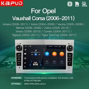 Kapud Android 10 For Opel GPS Multimedia Car Radio Video Player Navigation 7'' Astra Vectra Antara Zafira Corsa Combo Stereo DSP