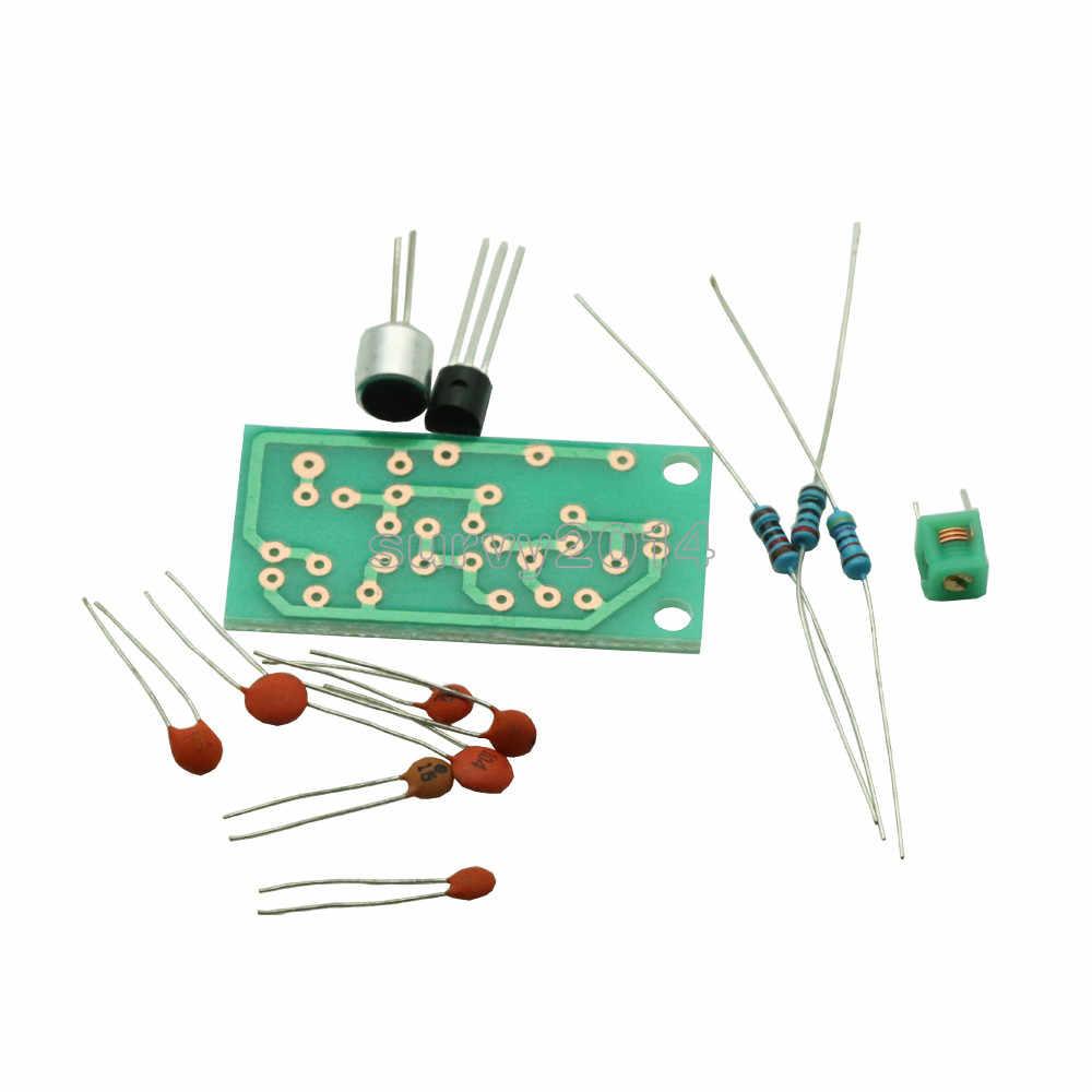 Módulo transmisor FM Mini micrófono inalámbrico Ham Radio frecuencia PCB placa 91-103MHz 3 V-5 V DC para DIY