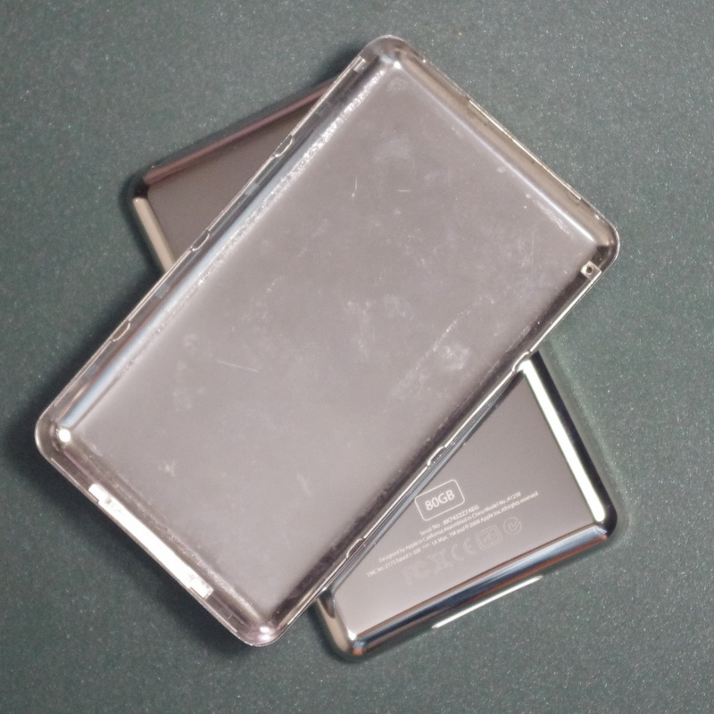 For IPod Video 30GB 60GB 80GB Back Cover Case  Slim And Thick