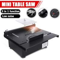 7200RPM Mini Table Saw Handmade Woodworking Bench Saws DIY Hobby Model Crafts Cutting Tool Electric Polisher Engraving Grinder
