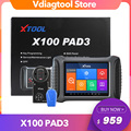 XTOOL X100 PAD3 Auto Key Programmer X100 PAD Elite Obd2 Diagnostic Odometer Adjustment With All Key Lost For Toyota For Lexus