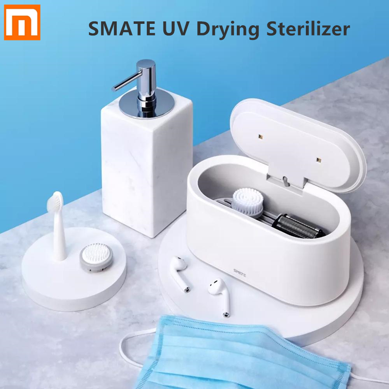 Xiaomi SMATE UV LED Light Drying Sterilizer 99.9% Sterilization Three Modes Hot Air Drying One Button Operation