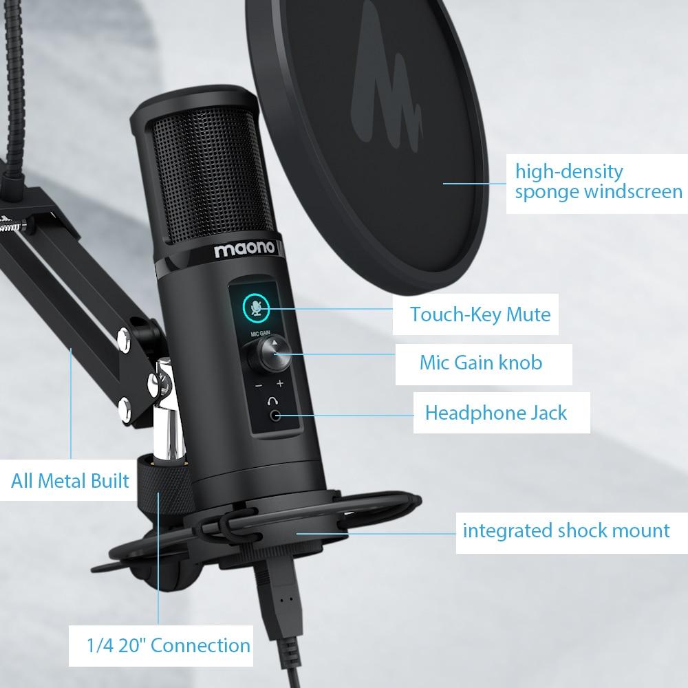 MAONO AU-PM422 Condenser Microphone 6