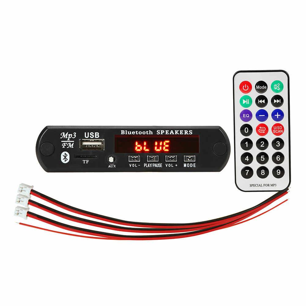 ARuiMei 2*15W MP3 Lettore Scheda di Decodifica 12V Bluetooth 5.0 30W amplificatore Auto FM Modulo Radio TF di sostegno del USB AUX