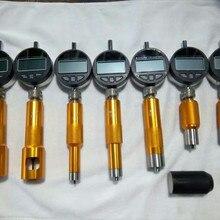 Новинка! обновленный Тип common rail игла распылителя форсунки измерительный инструмент с 7 шт. микрометрический измеритель, инструмент для ремонта инжектора common rail
