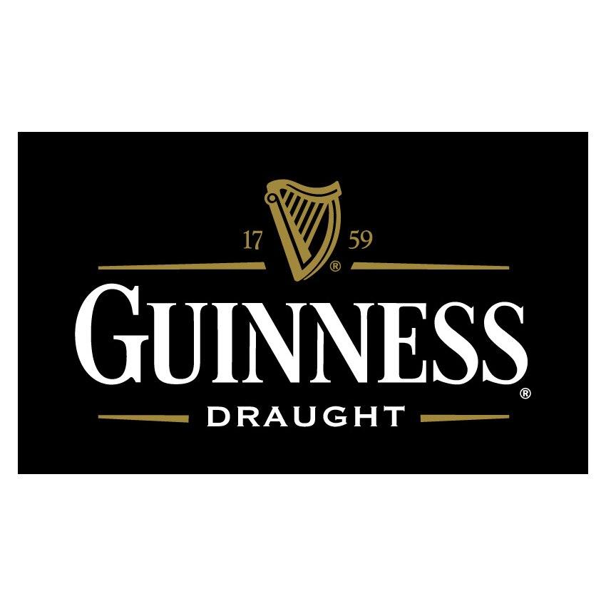 90x150cm 60x90cm Sport Flag Guinness Beer Flag 3x5ft Polyester Custom Banner