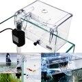 Aquarium Breeding Hatchery House Transparent Fish Tank Incubator Aquarium Transparent Breeder Isolation Hanging Box Pump