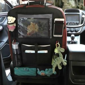 Image 2 - 2021 comodo seggiolino auto Organizer posteriore custodia multi tasca custodia custodia per auto custodia per Tablet supporto per Tablet organizzatore